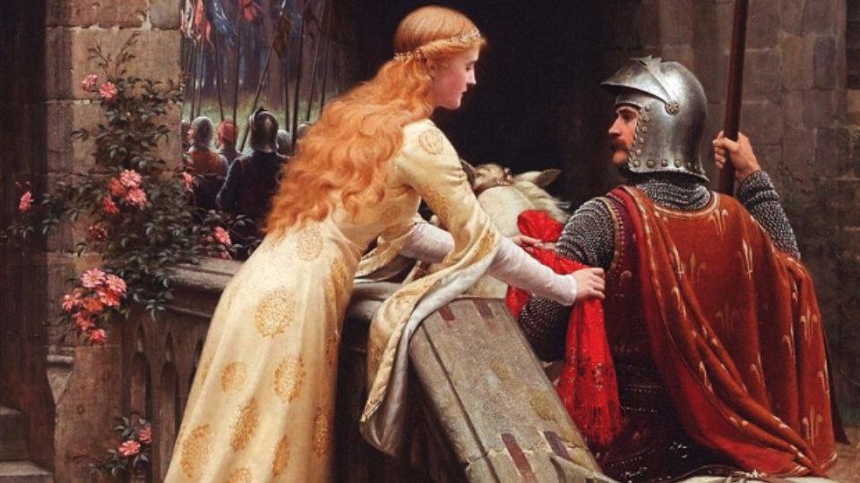 Caballero y su dama