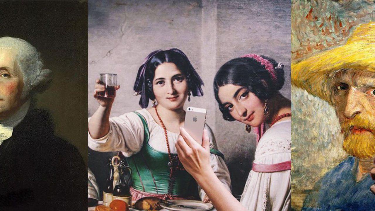 Imágenes de periódicos como La Vanguardia sobre el Museo de los Selfies en California